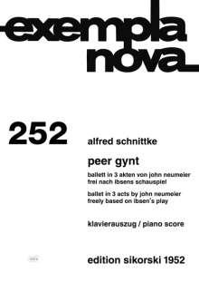 Alfred Schnittke: Peer Gynt, Noten