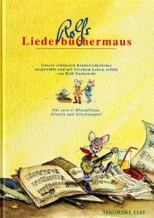 Rolf Zuckowski: Rolfs Liederbüchermaus, Noten