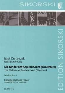 Isaak Dunajewski: Die Kinder des Kapitän Grant, Noten