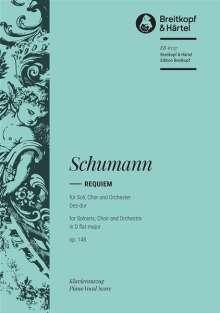 Robert Schumann: Requiem Des-Dur op. 148, Noten