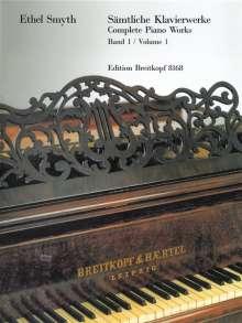Ethel Smyth: Sämtliche Klavierwerke, Heft 1, Noten