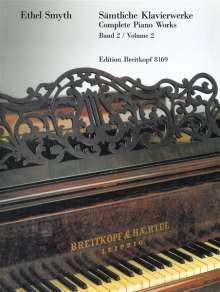 Ethel Smyth: Sämtliche Klavierwerke, Heft 2, Noten
