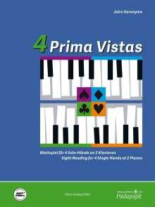Jairo Geronymo: 4 Prima Vistas, Noten