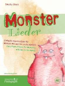 Timothy Sharp: Monsterlieder, Noten