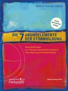 Barbara Hoos de Jokisch: Die sieben Grundelemente der Stimmbildung, Noten