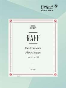 Joachim Raff: Sonaten für Klavier op. 14 und op. 168 op. 14,168, Noten
