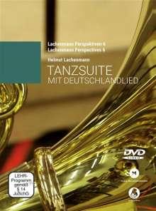 Helmut Lachenmann: Tanzsuite mit Deutschlandlied, Noten