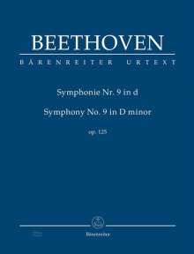 Ludwig van Beethoven: Sinfonie Nr.9 d-Moll op.125, Studienpartitur, Noten