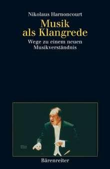 Musik als Klangrede, Buch