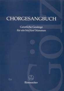 Chorgesangbuch, Noten