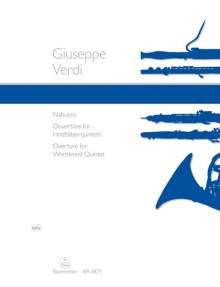 "Giuseppe Verdi: Ouvertüre zu ""Nabucco"", Noten"