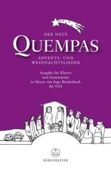 Der neue Quempas, Klavier und Instrumente, Noten