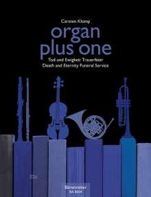 Organ plus brass, Fünf Choralvorspiele der Romantik, Partitur mit Bläserpartitur in C, Noten
