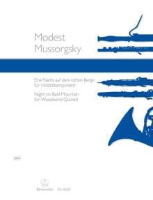 Modest Mussorgsky: Nacht auf dem kahlen Berg, Noten