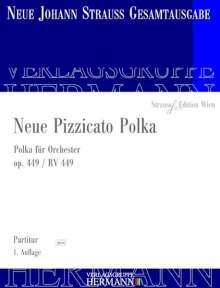 Johann Strauss II: Neue Pizzicato Polka op. 449 RV 449, Noten
