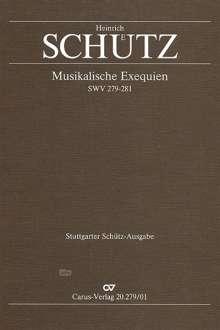 Heinrich Schütz (1585-1672): Schütz: Musikalische Exequien I-III, Noten