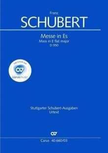 Franz Schubert: Messe Nr.6 Es-Dur D 950, Klavierauszug, Noten
