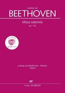 Ludwig van Beethoven: Missa solemnis (Klavierauszug), Noten