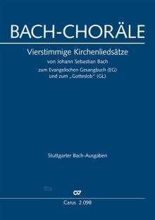 Johann Sebastian Bach: Bach: Choräle zum EG und GL, Noten