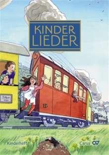 Verschiedene (s. Einzeltitel): Die schönsten deutschen Kinderlieder. Kinderheft zum großen Kinderlieder-Buch. Zum Singen in der Familie. Ausgabe für den Kinderchor, Noten