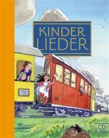 Verschiedene (s. Einzeltitel): Kinderlieder - Liederbuch inkl. Mitsing-CD, Noten