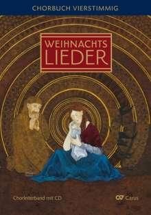 Verschiedene (s. Einzeltitel): Advents- und Weihnachtslieder - Chorbuch vierstimmig, Noten
