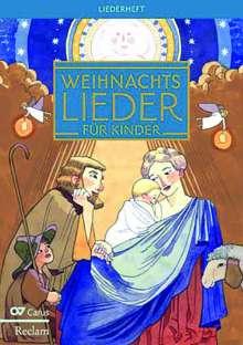 Verschiedene (s. Einzeltitel): Weihnachtslieder für Kinder - Liederheft, Noten