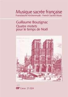 Guillaume Bouzignac (1592-1641): Bouzignac: Vier Motetten für die Weihnachtszeit, Noten