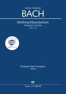 Johann Sebastian Bach: J. S. Bach: Weihnachtsoratorium, Teile I-III, Noten