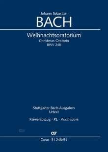 Johann Sebastian Bach: J. S. Bach: Weihnachtsoratorium BWV 248, Teile I-VI, Noten