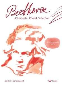 """Verschiedene (s. Einzeltitel): Chorbuch Beethoven - """"Beethoven vocal"""", Noten"""