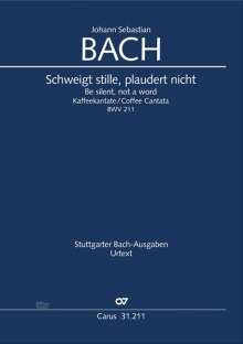 Johann Sebastian Bach: Schweigt stille, plaudert nicht (Kaffeekantate) BWV 211 (1734), Noten