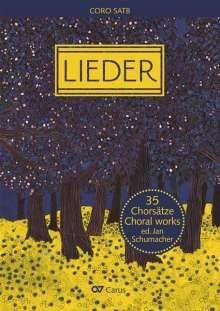 Verschiedene (s. Einzeltitel): Chorbuch Lieder, Noten