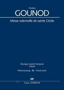 Charles Gounod: Messe solennelle de sainte Cécile (Klavierauszug XL), Noten