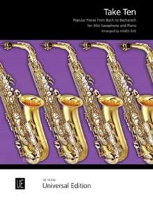 James; Diverse Rae: Take Ten. Für Altsaxophon und Klavier, Noten
