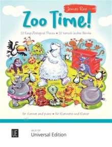 James Rae: Zoo Time! für Klarinette und Klavier, Noten