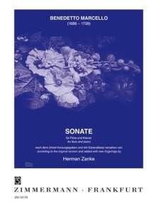 Benedetto Marcello: Sonate G-Dur, Noten