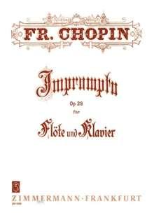 Frederic Chopin: Impromptu op. 29 (1893), Noten