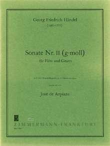Georg Friedrich Händel: Sonate Nr. 2 g-Moll, Noten
