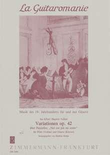 Johann Baptist Wanhal: Variationen op. 42, Noten