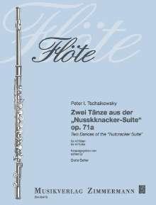 Peter Iljitsch Tschaikowsky: Tänze aus der Nußknacker-Suite op. 71a, Noten