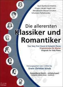 Erwin Christian Scholz: Die allerersten Klassiker und Romantiker Band 1 - 3, Noten