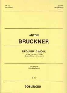 Anton Bruckner (1824-1896): Requiem d-Moll, Noten