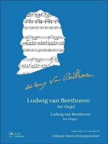 Ludwig van Beethoven: Ludwig van Beethoven für Orgel, Noten