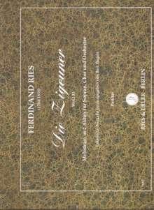 Ferdinand Ries: Die Zigeuner für Sopran, Chor und Orchester, Noten