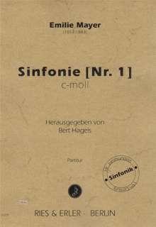 Emilie Mayer: Sinfonie Orchester Nr. 1 c-Moll, Noten