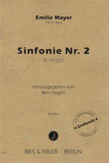 Emilie Mayer: Sinfonie Orchester Nr. 2 e-Moll, Noten