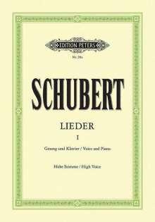 Franz Schubert (1797-1828): Lieder, Band 1, Noten