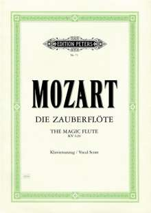 Wolfgang Amadeus Mozart (1756-1791): Die Zauberflöte KV 620, Noten