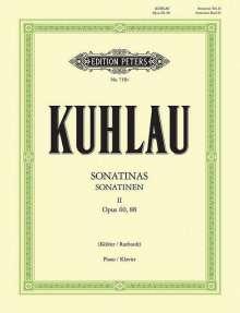 Friedrich Kuhlau: Sonatinen, Band 2, Noten